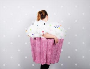 Costume de cupcake