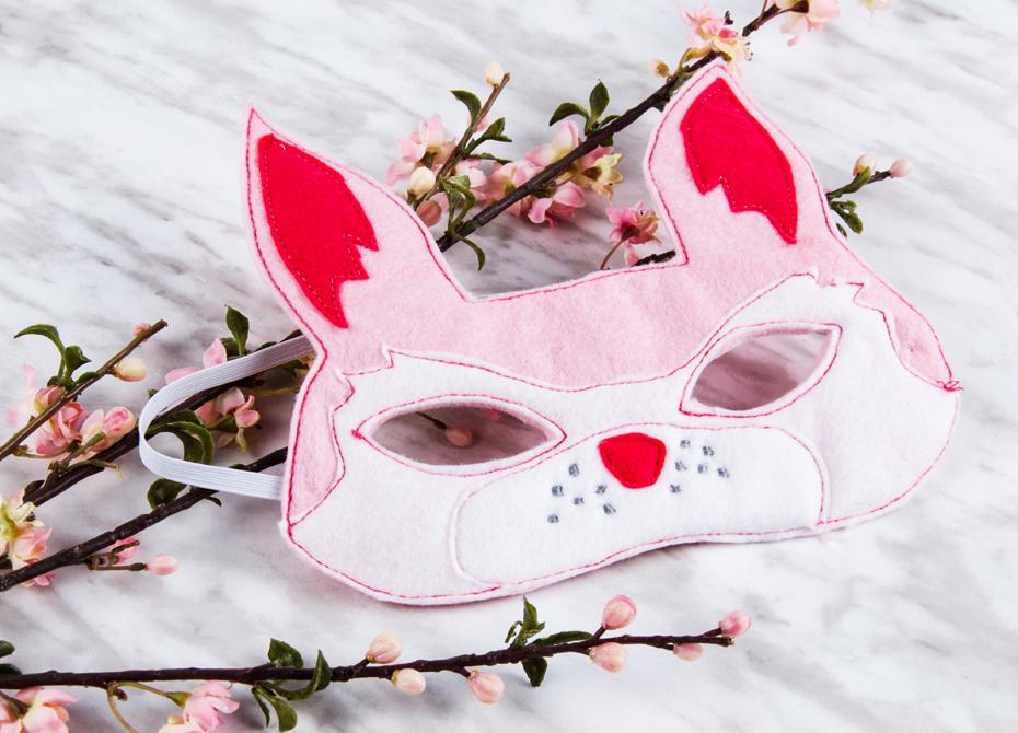masque lapin de pâques