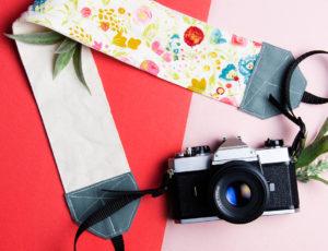 Créer sa propre sangle à caméra | Clubtissus.com
