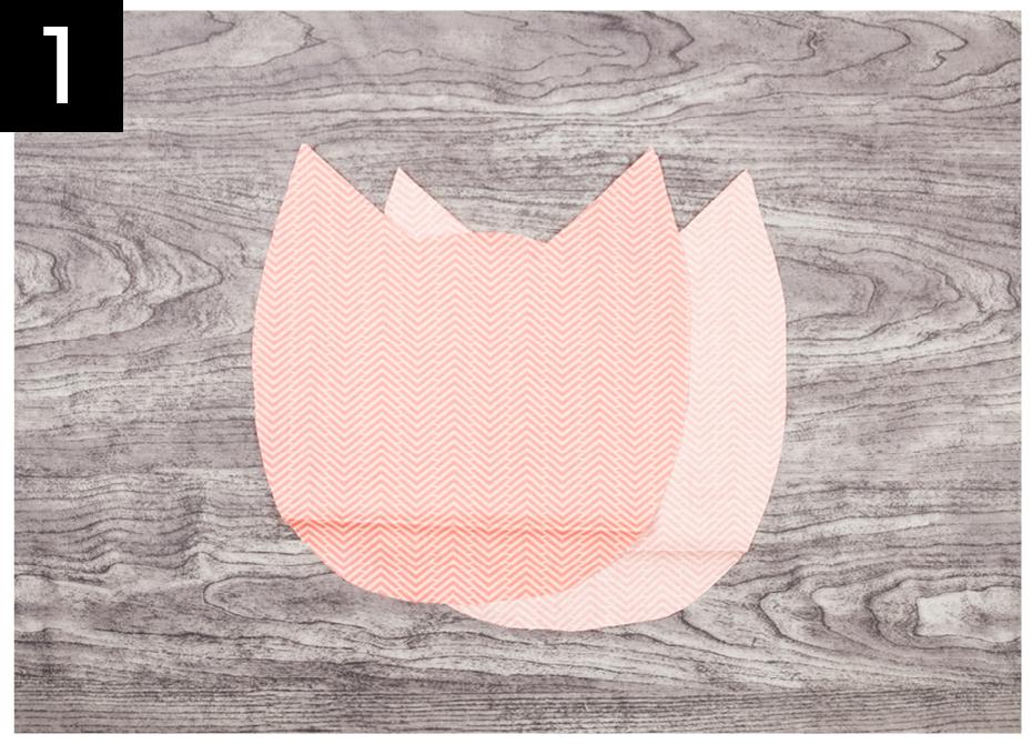 Créer un coussin en forme de chat | Clubtissus.com