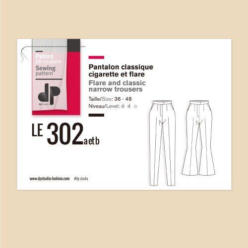 dp-studio-le-302a-et-b-pantalon-classique-cigarette-flare
