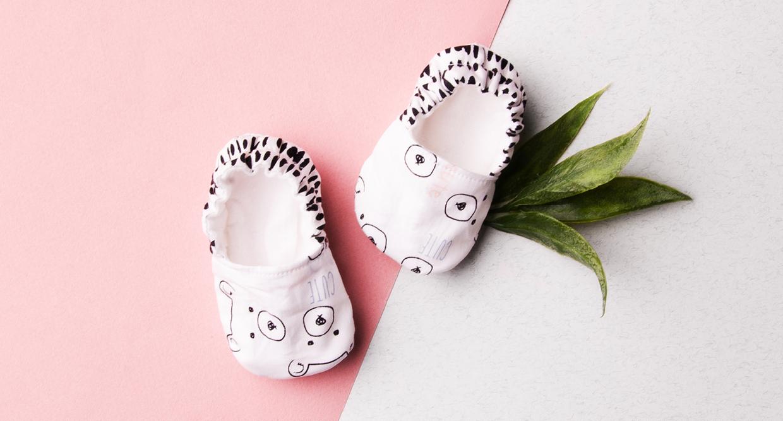 nouveau style 2e2c0 3382d Comment faire des chaussons pour bébé soi-même - Patron ...