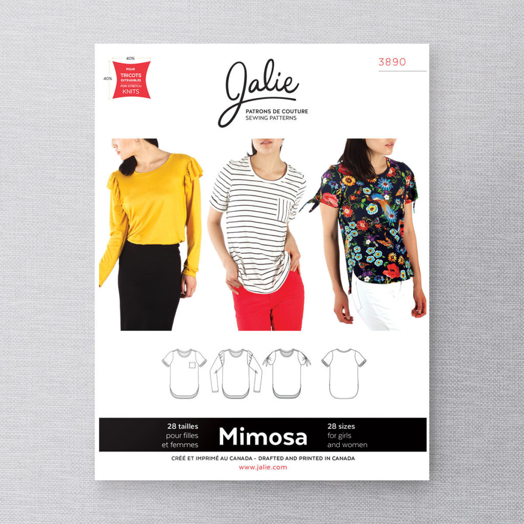 Jalie 3890 Mimosa T-shirts