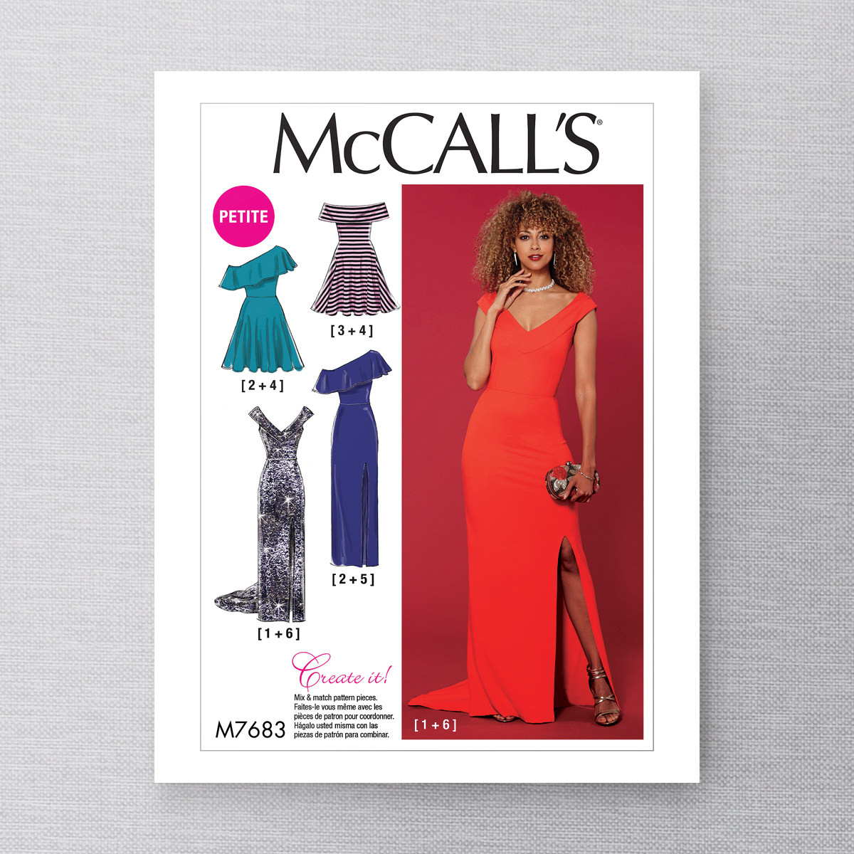 MCCALLS - M7683 - MIX & MATCH DRESSES FOR MISS - mccalls - by brands ...