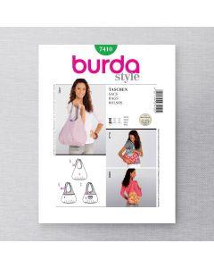 BURDA - 7410 ACCESSOIRES -SACS