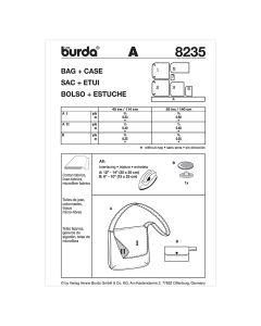 BURDA - 8235 ACCESSOIRES - SACS