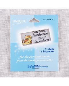 ÉTIQUETTES CHOUCHOU - BEIGE