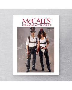 MCCALLS - M7176 ACCESSOIRES POUR HOMMES / FEMMES - P À TG