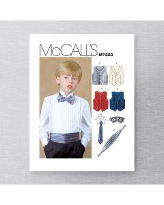 MCCALLS - M7223 ACCESSOIRES DE SOIRÉE POUR ENFANTS