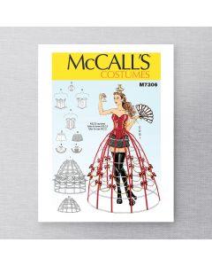 MCCALLS - M7306 CORSET ET ACCESSOIRES POUR FEMMES