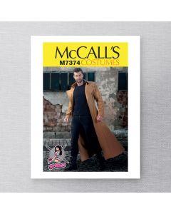 MCCALLS - M7374 MANTEAUX LONGS POUR HOMMES
