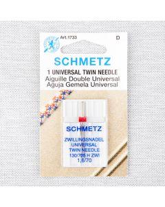 AIGUILLE UNIVERSELLE DOUBLE SCHMETZ - 70/10 16 mm