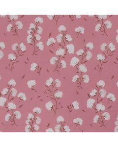 SOFTSHELL COTTON FLOWER PAR KATIA - COTTON FLOWER ROSE