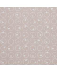 COTON LUCKY CHARM PAR GHAZAL RAZAVI POUR FIGO - FOUR LEAF CLOVER GRIS