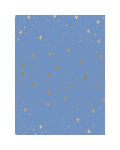 COTON PRIMAVERA PAR RIFLE PAPER CO. POUR COTTON+STEEL - STARS PERVENCHE