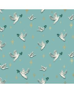 COTON CANDLELIGHT PAR ALEXIA ABEGG , MELODY MILLER POUR RUBY STAR SOCIETY - DOVES WATER