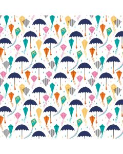 COTON MARY POPPINS II PAR CAMELOT - TOUCH THE SKY BLANC