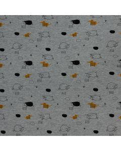 COTON OUATÉ THE BLACK SHEEP PAR KATIA - THE BLACK SHEEP SWEAT GRIS