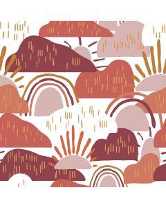 COTON DEAR ISLA PAR HOPE JOHNSON POUR COTTON + STEEL - HILLTOP SUNRISE