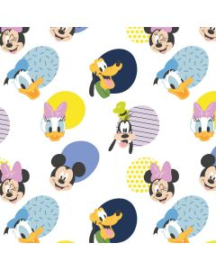 COTON PLAY ALL DAY : MICKEY MOUSE PAR CAMELOT - MM HELLO MEMPHIS BLANC