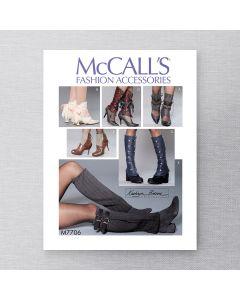 MCCALLS - M7706 - DEMI-GUÊTRES POUR FEMMES - OSZ