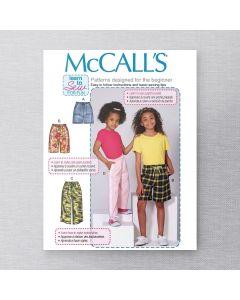 MCCALLS - M7966 SHORT ET PANTALONS POUR ENFANT / ADO
