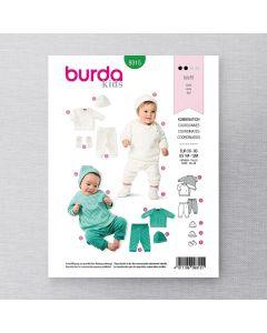 BURDA - 9315 COORDONNES POUR BÉBÉ