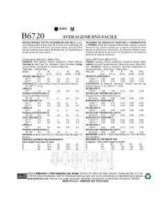 BUTTERICK - B6720 MANTEAUX AMPELS POUR FEMMES