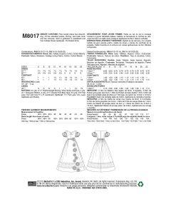 M8017-E5 - DÉGUISEMENT - ROBE POUR FEMMES