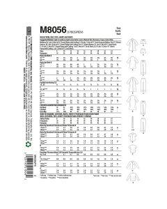 MCCALLS - M8056 ENSEMBLE DE NUIT POUR FEMME