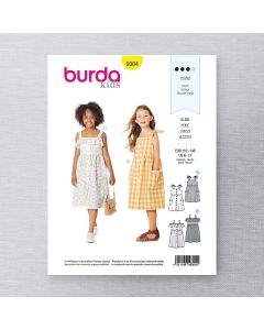 BURDA - 9304 ROBES POUR ENFANT