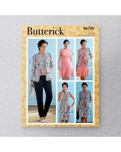 BUTTERICK - B6738 COORDONNÉ POUR FEMMES
