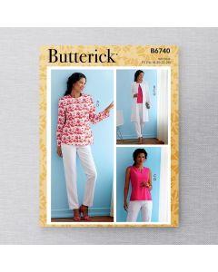 BUTTERICK - B6740 COORDONNÉ POUR FEMMES