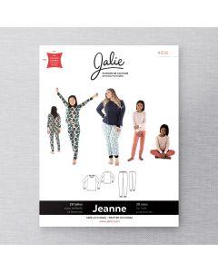 JALIE 4016 - PYJAMA DEUX PIÈCES EN TRICOT JEANNE