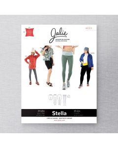 JALIE 4023 - LEGGING, CEINTURE DE COURSE ET TUQUE STELLA