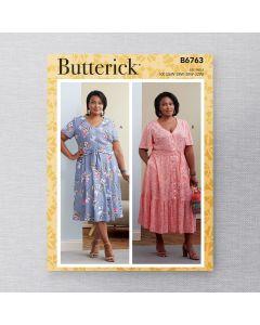 BUTTERICK - B6763 ROBES POUR FEMMES