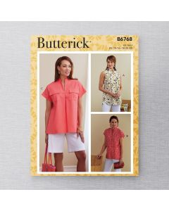BUTTERICK - B6768 HAUTS POUR FEMMES