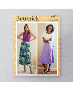 BUTTERICK - B6772 JUPES POUR FEMMES