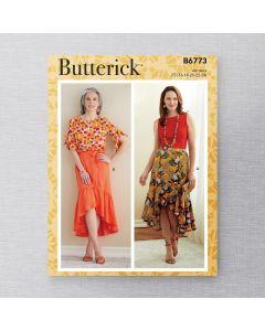 BUTTERICK - B6773 JUPES POUR FEMMES