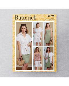 BUTTERICK - B6774 ENSEMBLE COORDONNÉ POUR FEMMES
