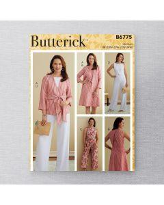 BUTTERICK - B6775 ENSEMBLE COORDONNÉ POUR FEMMES