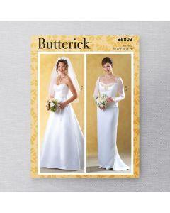 BUTTERICK - B6803 ENSEMBLE DE MARIÉE POUR FEMMES