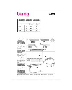 BURDA - 9276 ACCESSOIRES - SALLE DE BAIN