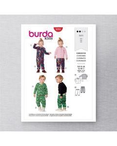 BURDA - 9293 COORDONNÉS POUR ENFANT