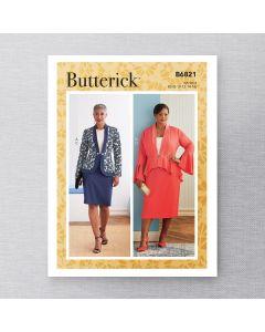 BUTTERICK - B6821 VESTES ET JUPES POUR FEMMES