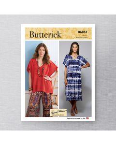 BUTTERICK - B6853 TUNIQUES ET ROBES POUR FEMMES