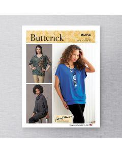 BUTTERICK - B6854 HAUTS ET TUNIQUE POUR FEMMES