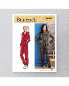 BUTTERICK - B6861 COMBINAISON POUR FEMMES - TP-TTG