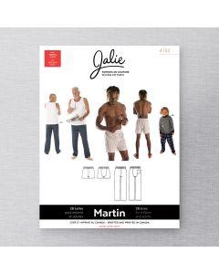 JALIE 4132 - PANTALON ET CALEÇON BOXER MARTIN