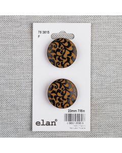 BOUTON ELAN - 23 MM TIGE JAUNE - ENS2